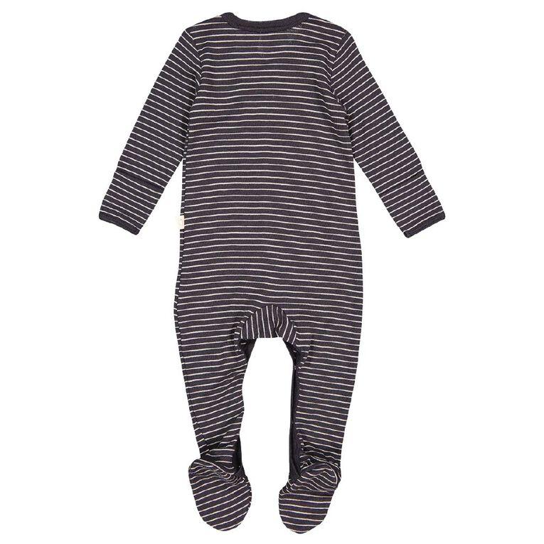 Young Original Baby Merino All In One, Grey Dark, hi-res
