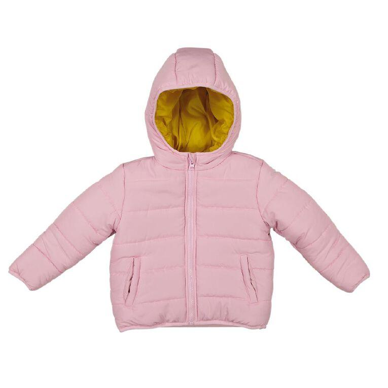 Young Original Toddler Puffer Jacket, Pink Light, hi-res