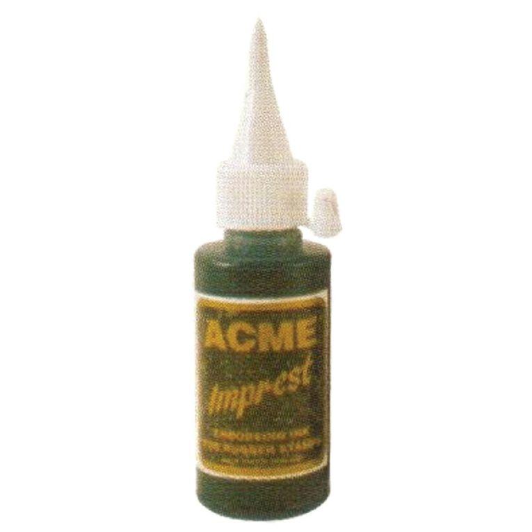 Acme Ink Rubber Stamp Blue 50ml Blue, , hi-res