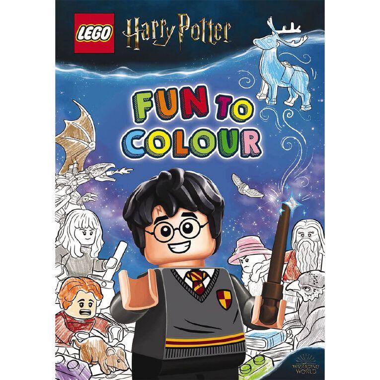 LEGO Harry Potter: Fun to Colour, , hi-res