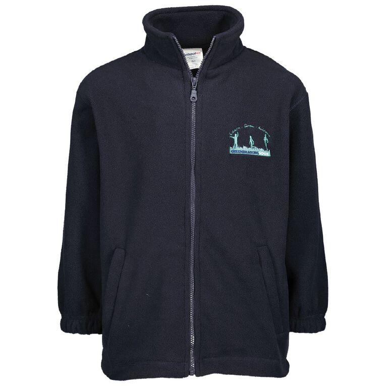 Schooltex Greenmeadows School Polar Fleece Jacket, Navy, hi-res
