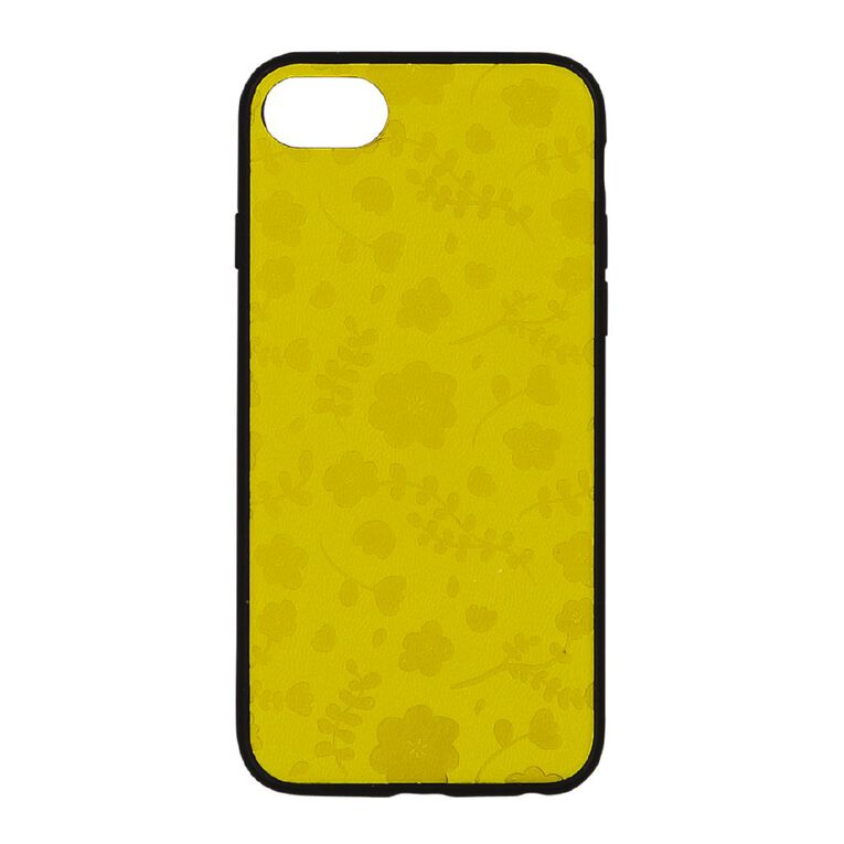 Botanic Geo iPhone 6/7/8/SE Phone Case Mustard, , hi-res