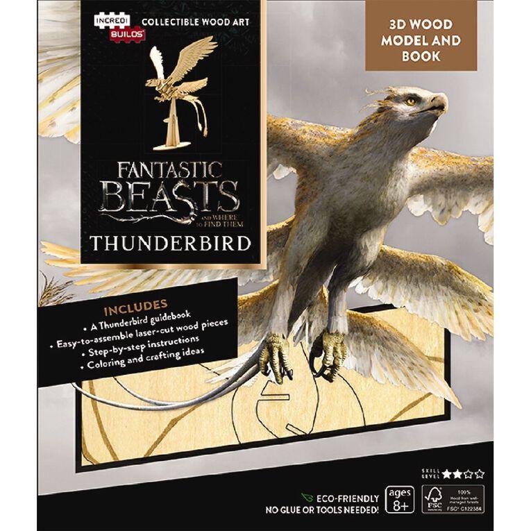 Incredibuilds Fantastic Beasts Thunderbird 3D Wooden Model, , hi-res