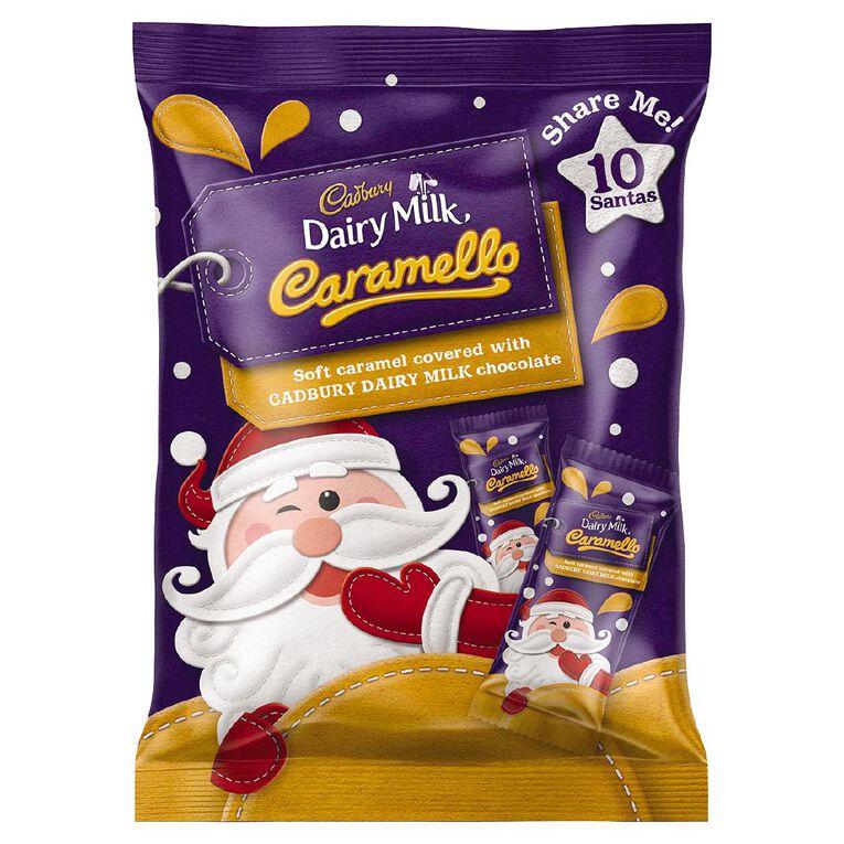 Cadbury Caramello Santa Sharepack 150g, , hi-res