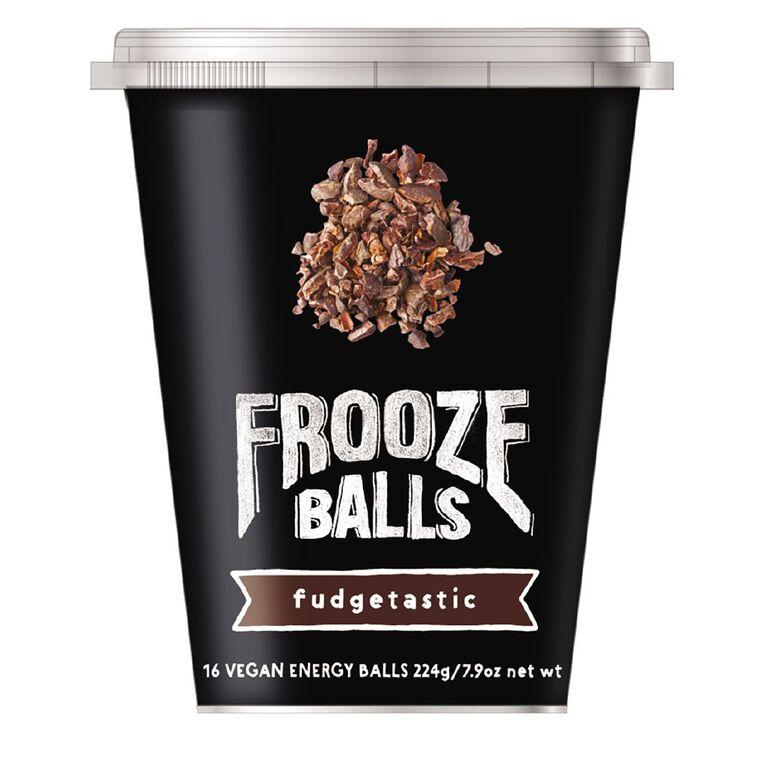Frooze Balls Pottle Fudgetastic 224g, , hi-res