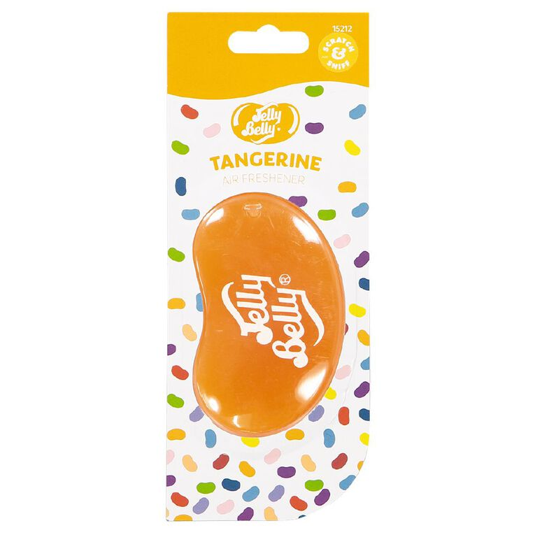 Jelly Belly 3D Hanging Car Air Freshener Tangerine Scent, , hi-res