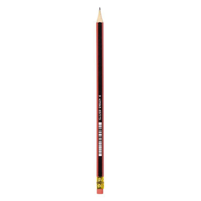 WS HB Lead Pencils Eraser Loose Black, , hi-res