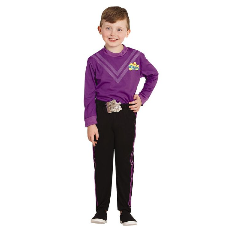 Wiggles Lachy Deluxe Costume - Size 3-5, , hi-res