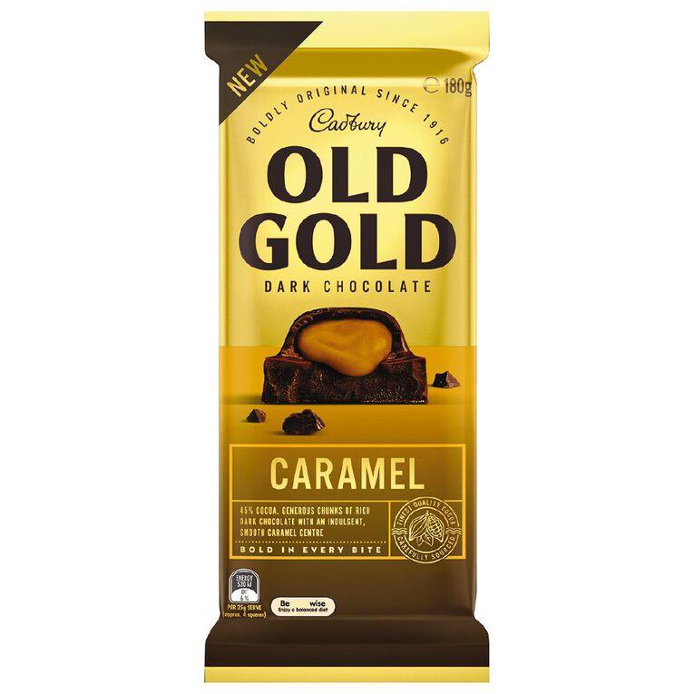 Cadbury Old Gold Caramel Tablet 180g, , hi-res image number null