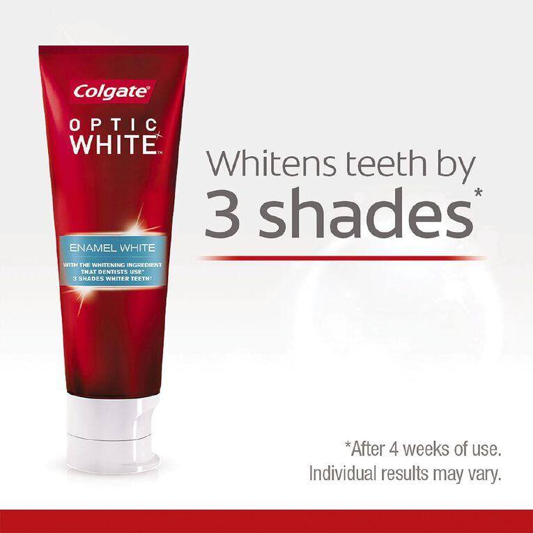 Colgate Optic White Toothpaste High Impact 85g, , hi-res