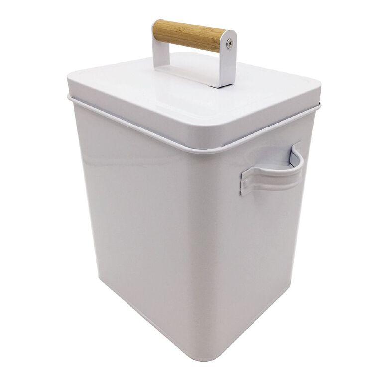 Living & Co Laundry Box White, , hi-res