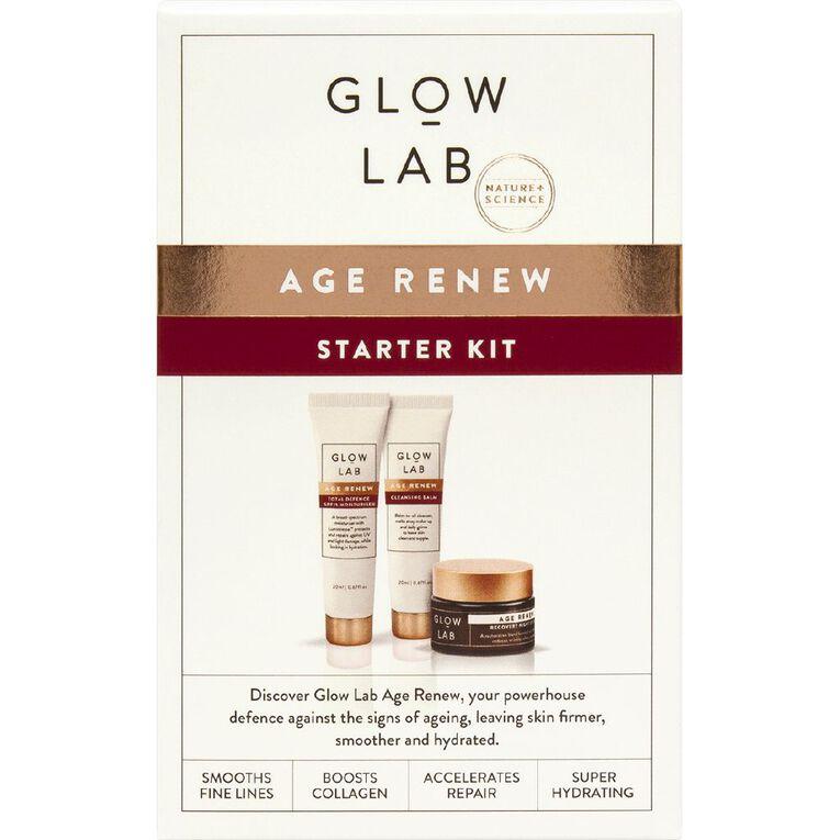 Glow Lab Age Renew Starter Kit, , hi-res