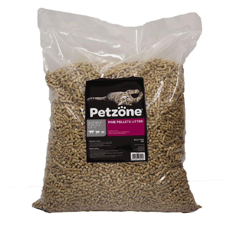 Petzone Pine Pellets litter 20Lt, , hi-res