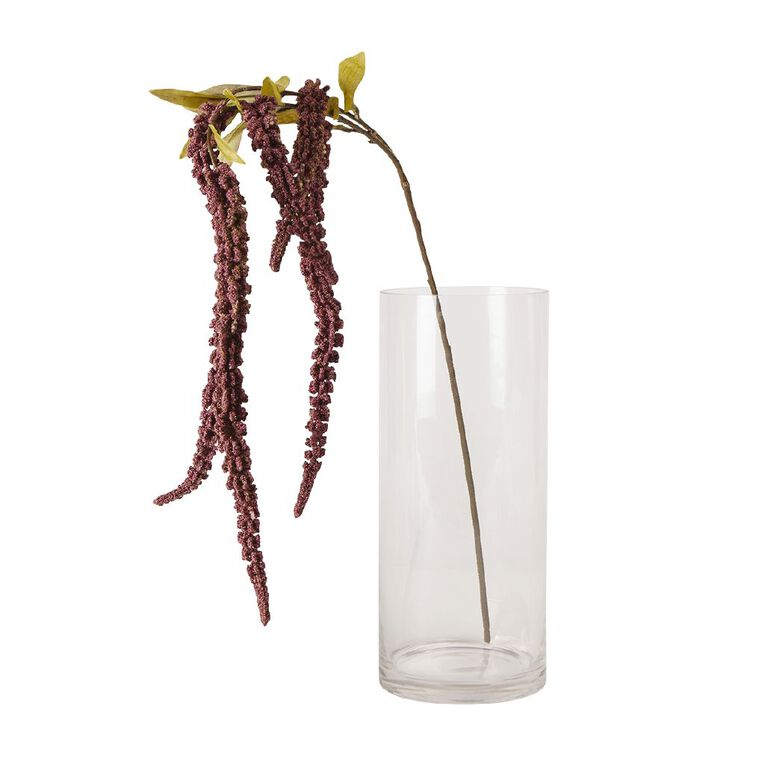 Living & Co Artificial Amaranthus Stem Lilac 78cm, , hi-res image number null