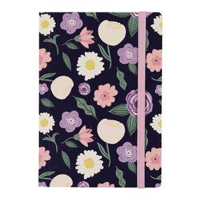 Uniti Blossom Notebook Floral A6
