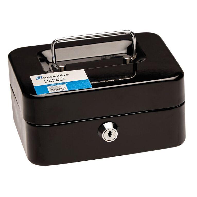 Mako Small Cash Box Black 6 inch, , hi-res