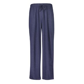 H&H Men's Plain Knit Pyjama Pants