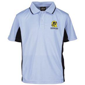 Schooltex Queenspark Senior Short Sleeve Polo with Transfer