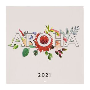 Bright Ideas 2021 Calendar Aroha 290mm X 290mm
