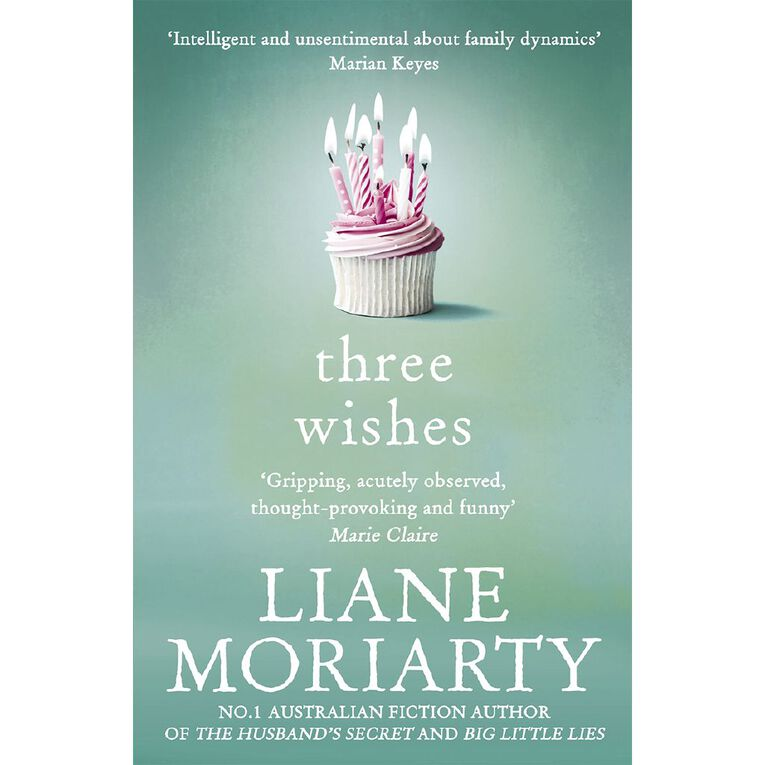 Three Wishes by Liane Moriarty, , hi-res