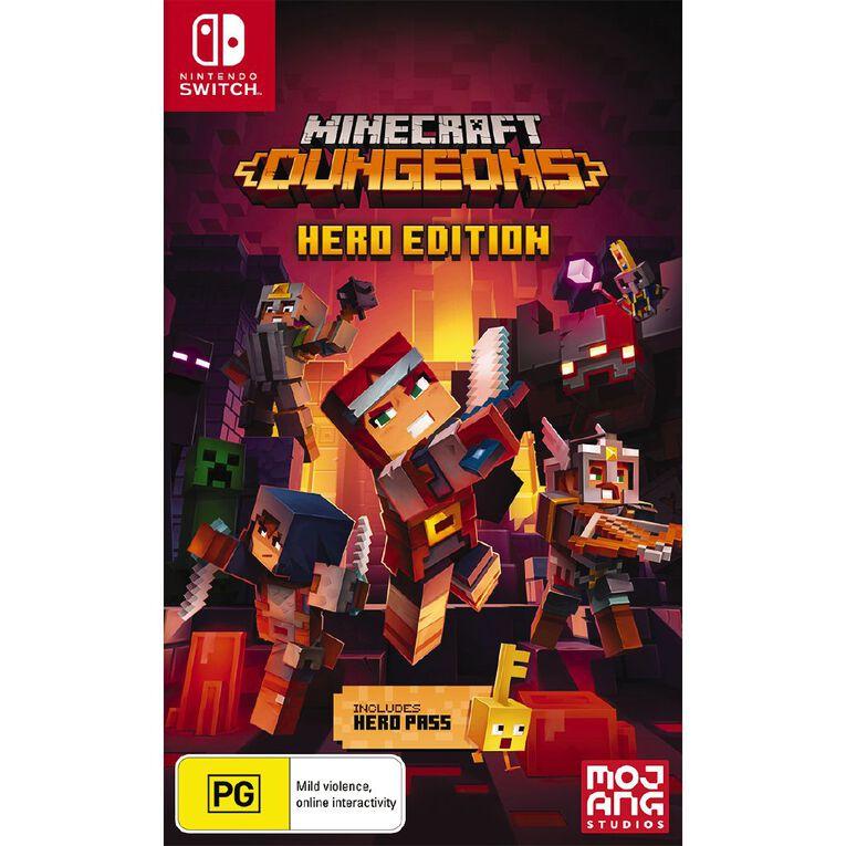 Nintendo Switch Minecraft Dungeons Hero Edition, , hi-res