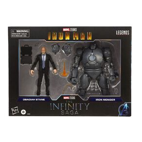 Marvel Legends Series 6-Inch Obadiah Stane and Iron Monger