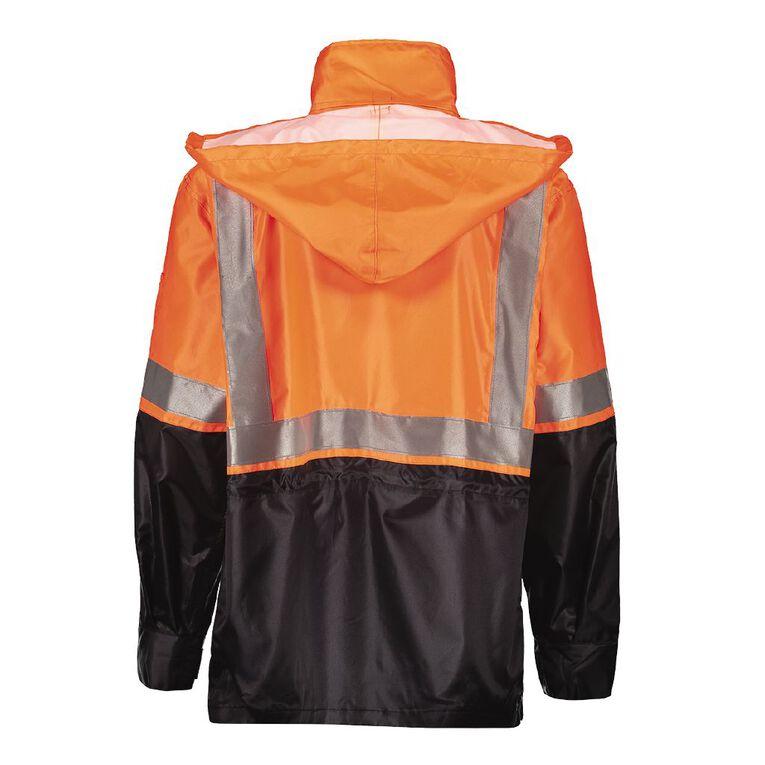 Rivet High Visibility Day & Night Compliant Jacket, Orange, hi-res