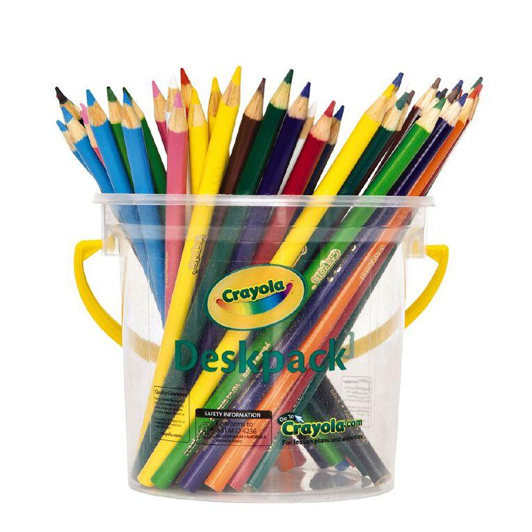 Crayola Coloured Pencils Deskpack 48 Pack, , hi-res
