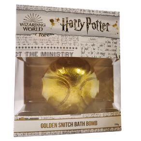 Harry Potter Bath Fizzer Golden Snitch Design in gift box