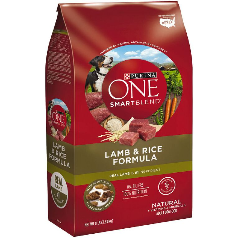 Purina ONE Dog Adult Lamb & Rice 3.6kg, , hi-res
