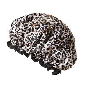 Colour Co. Shower Cap Pug or Leopard Print Design