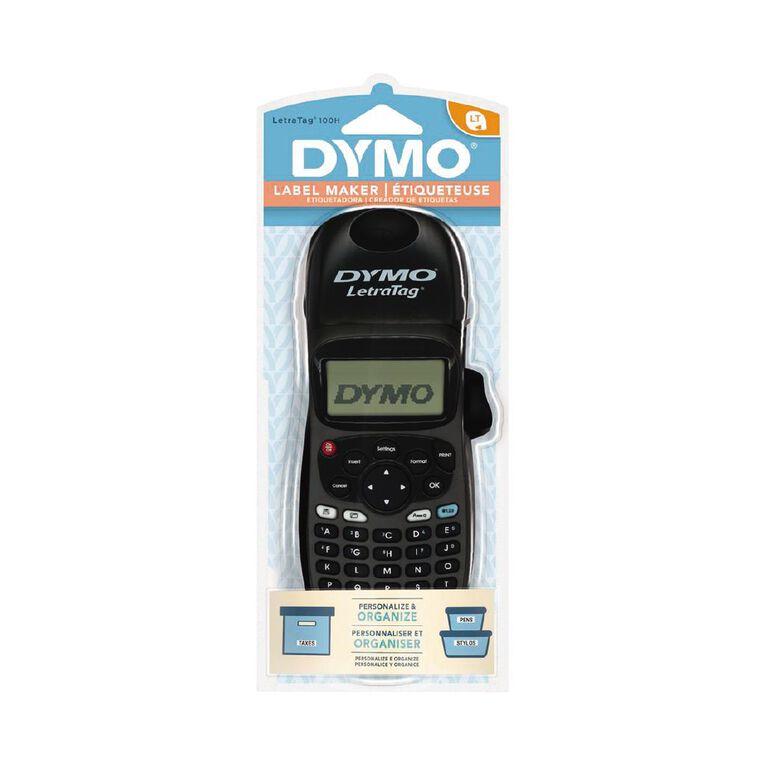 Dymo Letratag Hand Held Label Maker LT100 Black, , hi-res