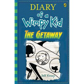 Diary of a Wimpy Kid #12 Getaway by Jeff Kinney N/A