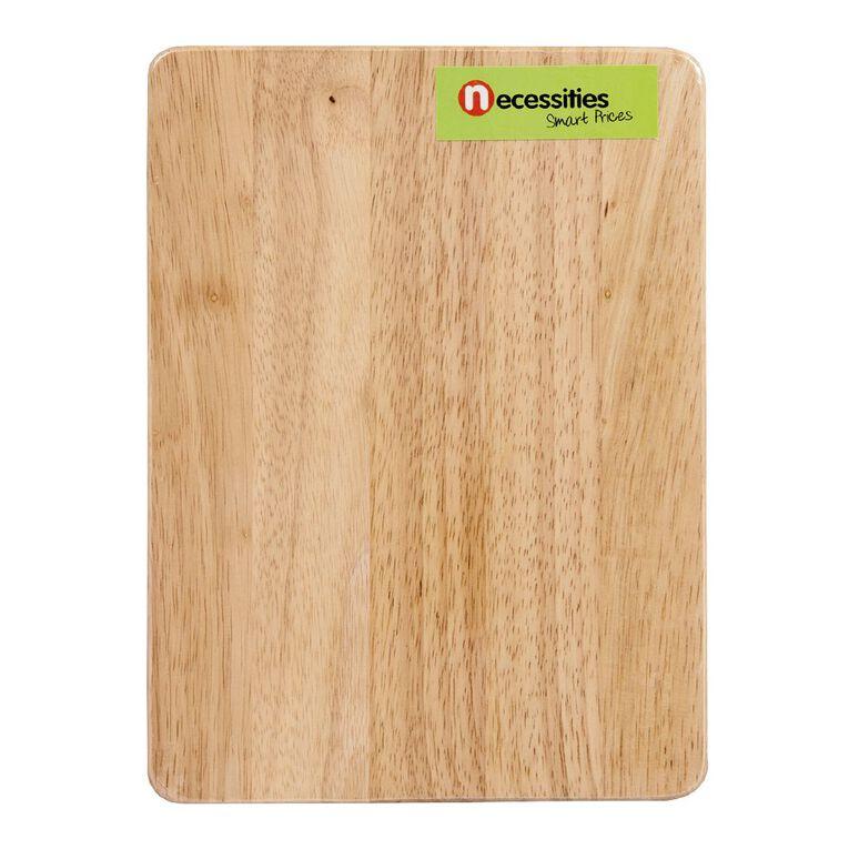 Living & Co Wooden Chopping Board 20cm x 27cm x 1cm, , hi-res