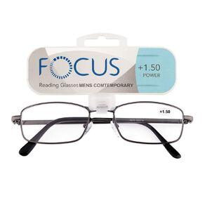 Focus Reading Glasses Men's Contemporary 1.50