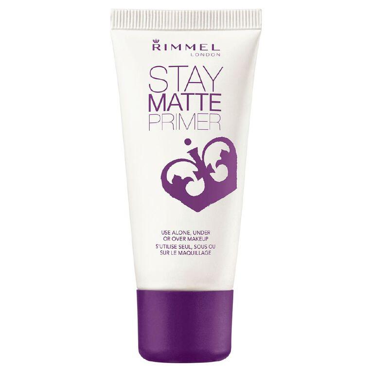 Rimmel Stay Matte BB Cream Primer, , hi-res