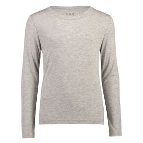 H&H Polyester Viscose Long Sleeve Thermal Top
