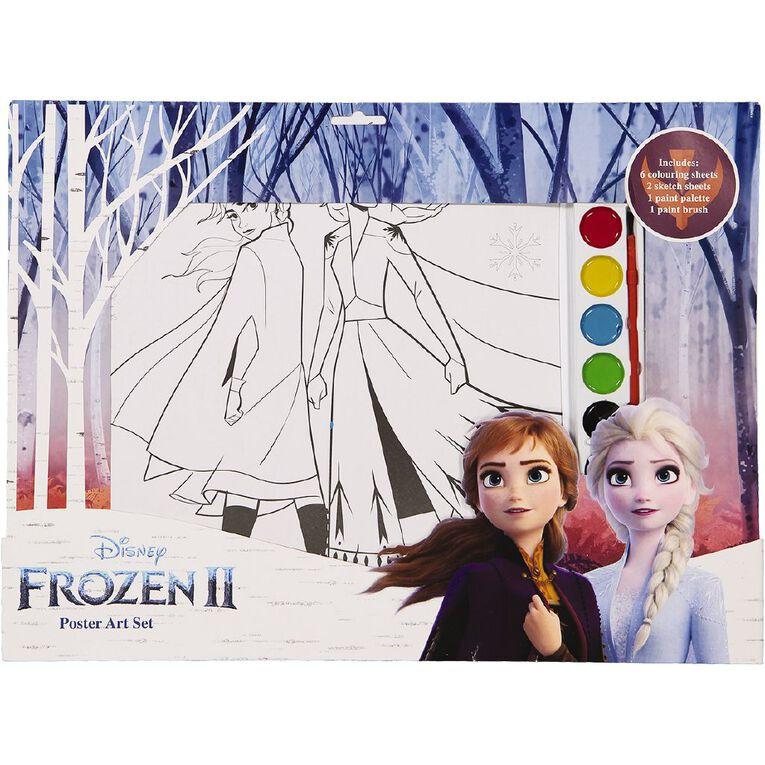 Frozen Poster Art Set A3, , hi-res