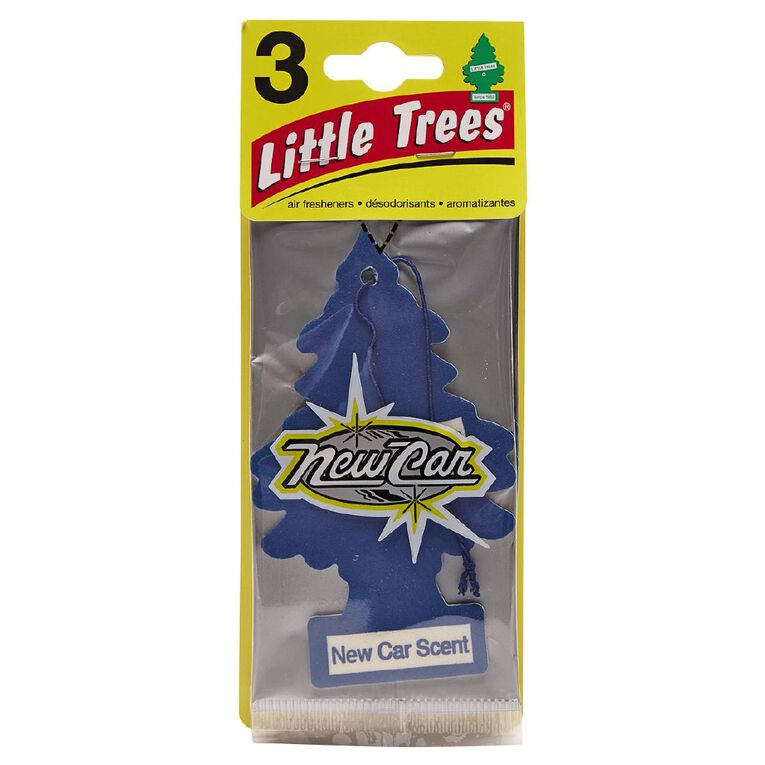 Little Trees Auto Air Freshener New Car 3 Pack, , hi-res