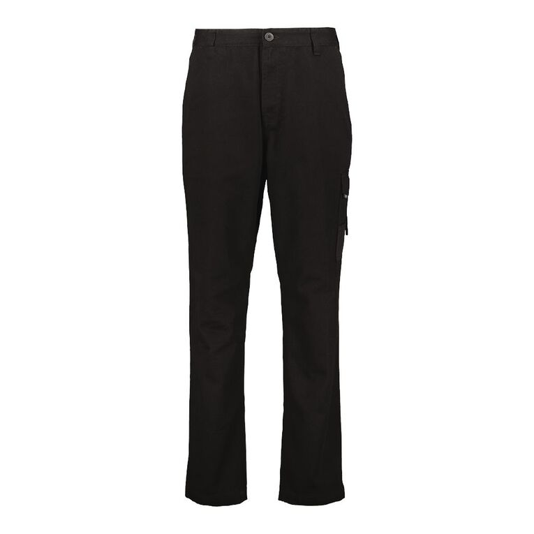 Rivet Men's Utility Pants, Black, hi-res