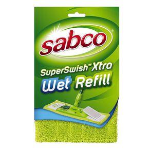 Sabco Super Swish Xtra Mop Wet Refill Green