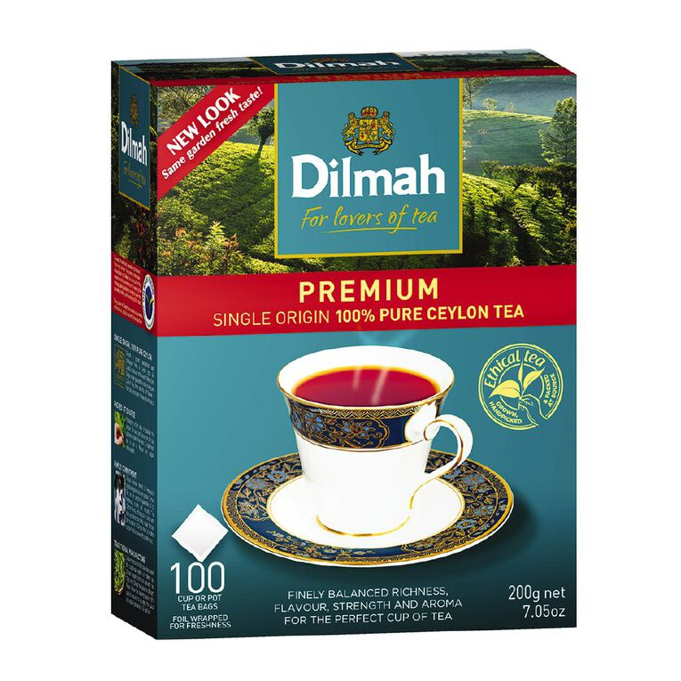 Dilmah Premium Tagless 100 Pack, , hi-res