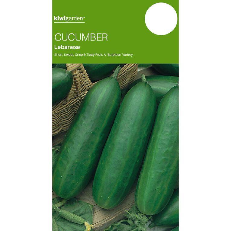 Kiwi Garden Cucumber Lebanese, , hi-res