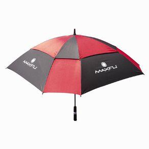 Maxfli Double Canopy Golf Umbrella Black/Red One Size