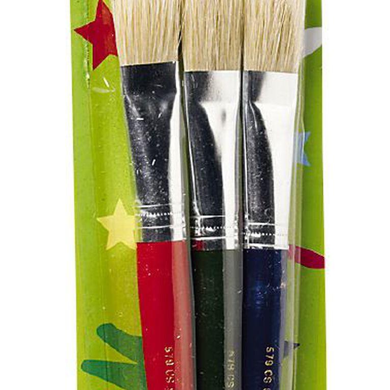 DAS Flat Stubby Brush Set 579CS 3pk, , hi-res