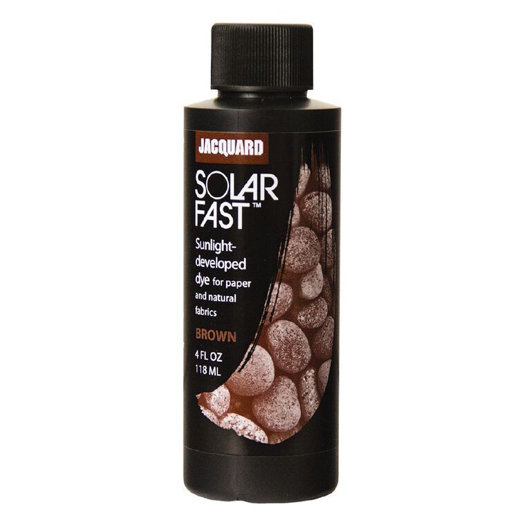 Jacquard Solarfast Dye 118.29ml Brown, , hi-res image number null
