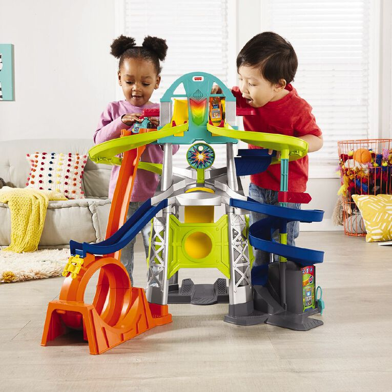 Fisher-Price Little People Wheelies Rampway Trackset, , hi-res
