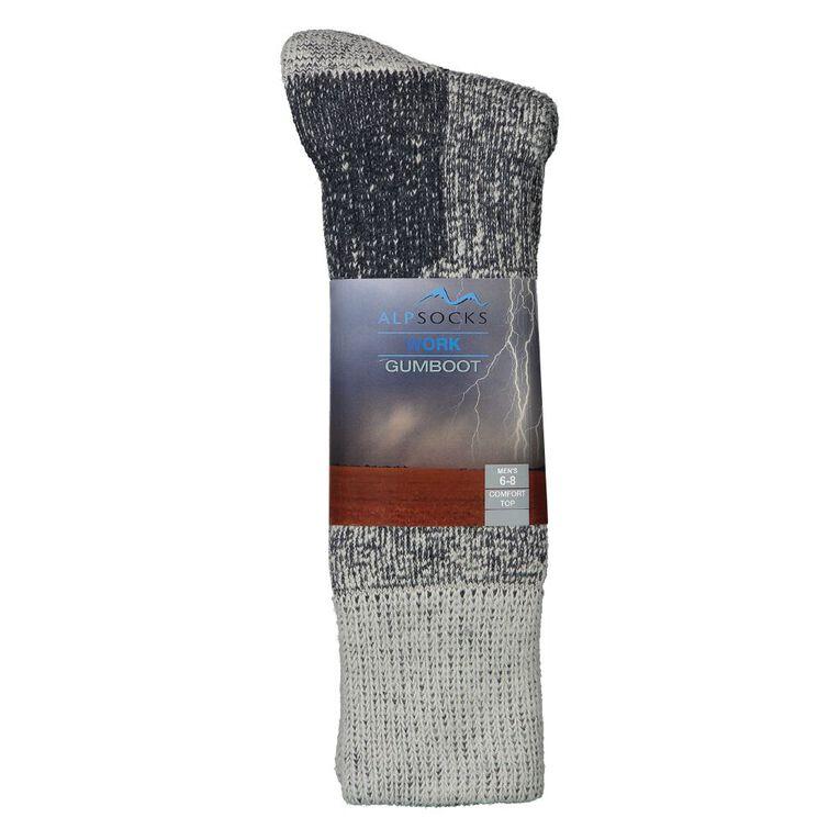 Alpsocks Gumboot Socks, Beige, hi-res