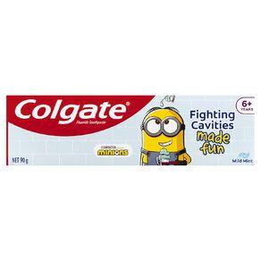 Colgate Minions Kids Sparkling Mint Toothpaste