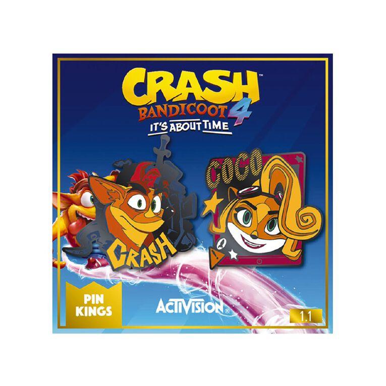Numskull Crash Bandicoot Pin Kings 1.1, , hi-res image number null